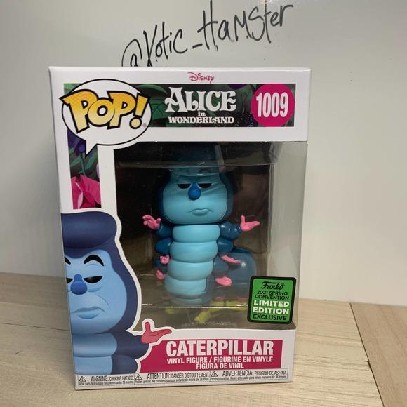 Funko Pop Caterpillar ECCC Shared